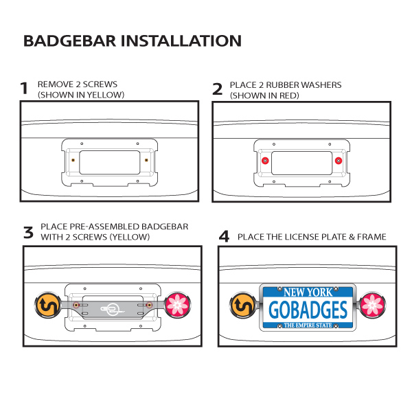 badgebar installation