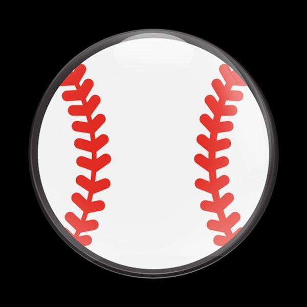 Dome Badge Sports Baseball 01