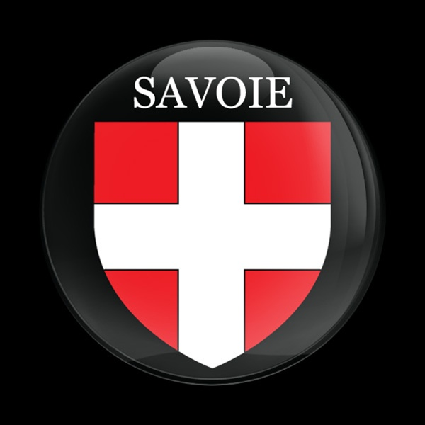 Magnetic Car Grille Dome Badge Flag Savoie