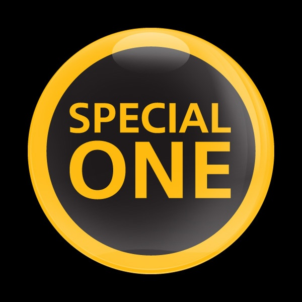 Dome Badge-Special One Yellow