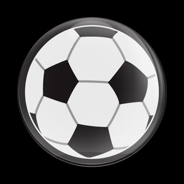 Dome Badge Sports Soccer Ball