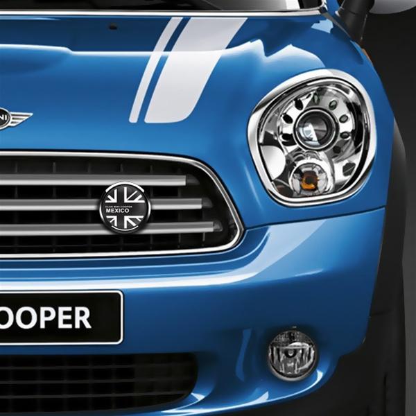 Dome Badge Club Mini Cooper Mexico