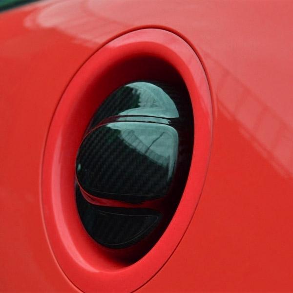 mini cooper r55 r56 carbon fiber fuel gas tank cover. Black Bedroom Furniture Sets. Home Design Ideas