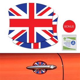 DOOR HANDLE SCRATCH COVER DECAL - UNIONJACK