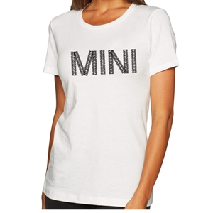 Women's MINI Cooper Short Sleeve Premium T-Shirt-MINI