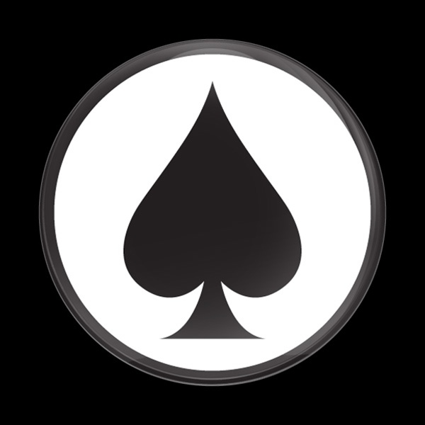 Dome Badge Ace Spade