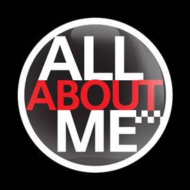 Magnetic Car Grille Dome Badge - All About Me
