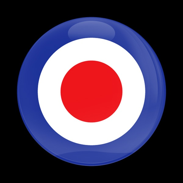 Dome Badge British Roundel