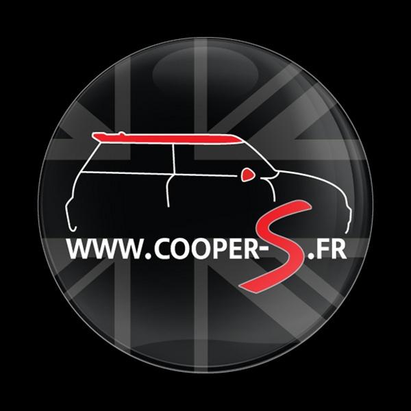 Dome Badge Club Mini Cooper Mexico: Dome Badge-Club Cooper S FR