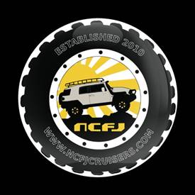 Magnetic Car Grille Dome Badge - Club NCFJ