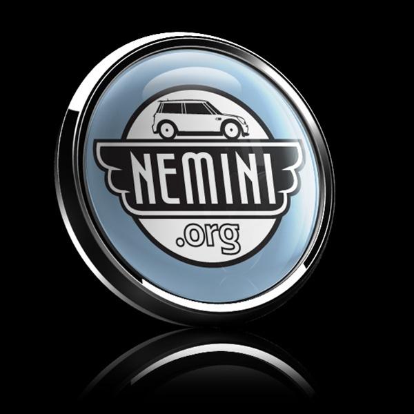 Dome Badge Club Mini Cooper Mexico: Dome Badge-Club NEMINI 01