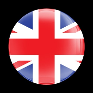 Magnetic Car Grille Dome Badge-UnionJack UK
