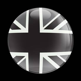 Magnetic Car Grille Dome Badge-BlackJack UK