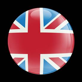 Magnetic Car Grille Dome Badge-UnionJack UK Heritage