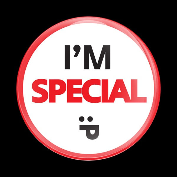 Dome Badge Sign Im Special