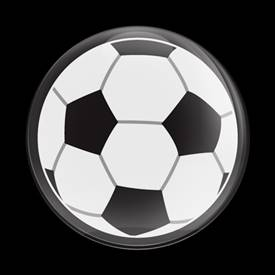 Magnetic Car Grille Dome Badge-Sports Soccer Ball