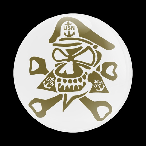 dome badge usn chief