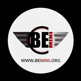 Magnetic Car Grille Dome Badge-Club be MINI