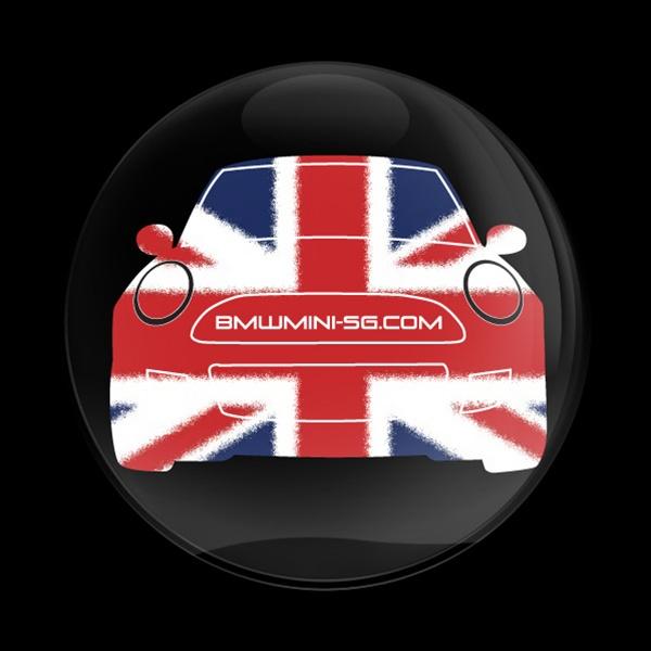 Dome Badge Club Mini Cooper Mexico: Dome Badge-Club BMW MINI SG