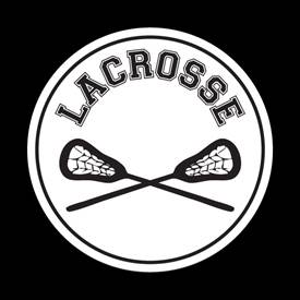 Magnetic Car Grille Dome Badge-Sports Lacrosse