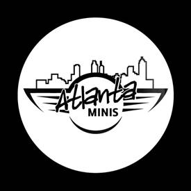 Magnetic Car Grille Dome Badge-Club Atlanta MINIS