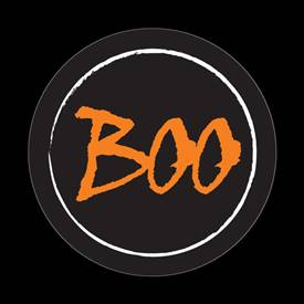 Magnetic Car Grille Dome Badge-Seasonal Halloween Boo