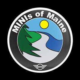Magnetic Car Grille Dome Badge - CLUB MINIs of MAINE