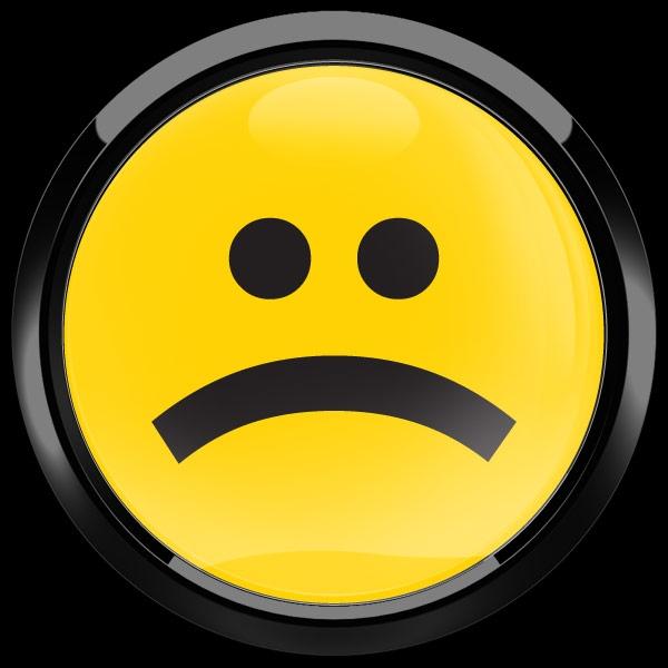 Dome Badge Emoji Frowning