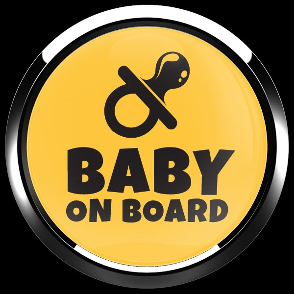 Dome Badge Baby On Board