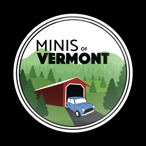 Magnetic Car Grille Dome Badge - Club Minis of Vermont