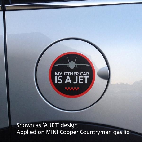 GoBadges GG0048 Round Unionjack Decal Sticker