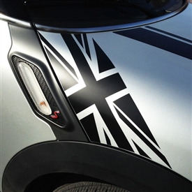 HOOD GOGRAPHIC for MINI COOPER R60, 61 - BLACKJACK