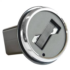 Hitch Cover Badge Holder - Chrome Trim Ring