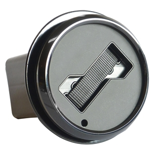 HITCH COVER - BLACK Trim Ring