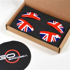 MINI Cooper R60 Countryman Door Pull Cap in UnionJack