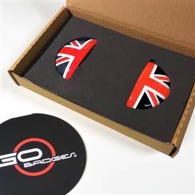 MINI Paceman R61 Door Pull Covers in Redjack