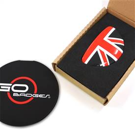 MINI Cooper Clubman R55 3r Door Pull Cap in RedJack