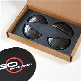 MINI Cooper R60 Countryman Door Pull Cap in Carbon Fiber