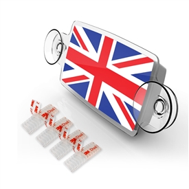 Small Toll Pass / EZ Pass / Transponder Holder - UNIONJACK