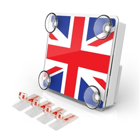 LARGE Toll Pass / EZ Pass / Transponder Holder - UNIONJACK