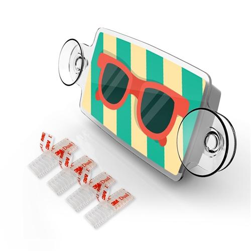 Small Toll Pass Ez Pass Transponder Holder Sunglass