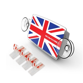 Small Toll Pass / EZ Pass / Transponder Holder - UNIONJACK GB