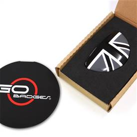 MINI Cooper Clubman R55 3r Door Pull Cap in Blackjack
