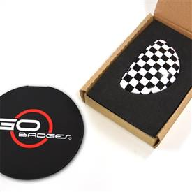 MINI Cooper Clubman R55 3r Door Pull Cap in Checker