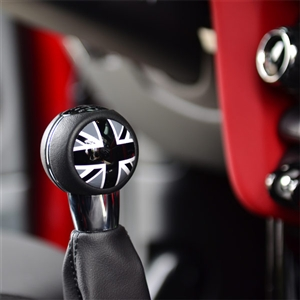 MANUAL SHIFTER BADGES for MINI F54,F55,F56 - BLACKJACK