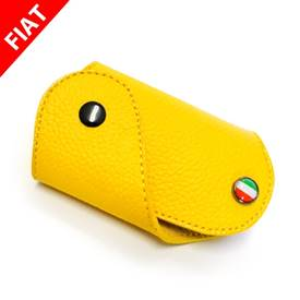 FIAT 500 Key Fob Yellow