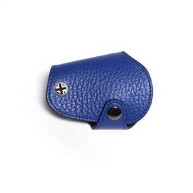 MINI Cooper Countryman R55,R56,R57,R58,R59,R60,R61 Leather & Microfiber Key Fob Cover Blue