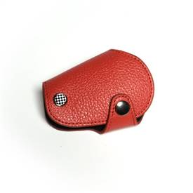 MINI Cooper Countryman R55,R56,R57,R58,R59,R60,R61 Leather & Microfiber Key Fob Cover Red