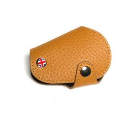 MINI Cooper Countryman R55,R56,R57,R58,R59,R60,R61 Leather & Microfiber Key Fob Cover Tan