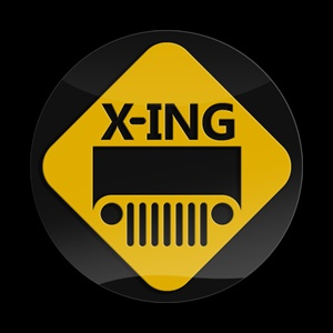Magnetic Car Grille 3D Acrylic Badge-3D JEEP Xing